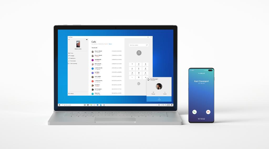 Звонки со смартфона в Windows 10 стали доступны всем пользователям