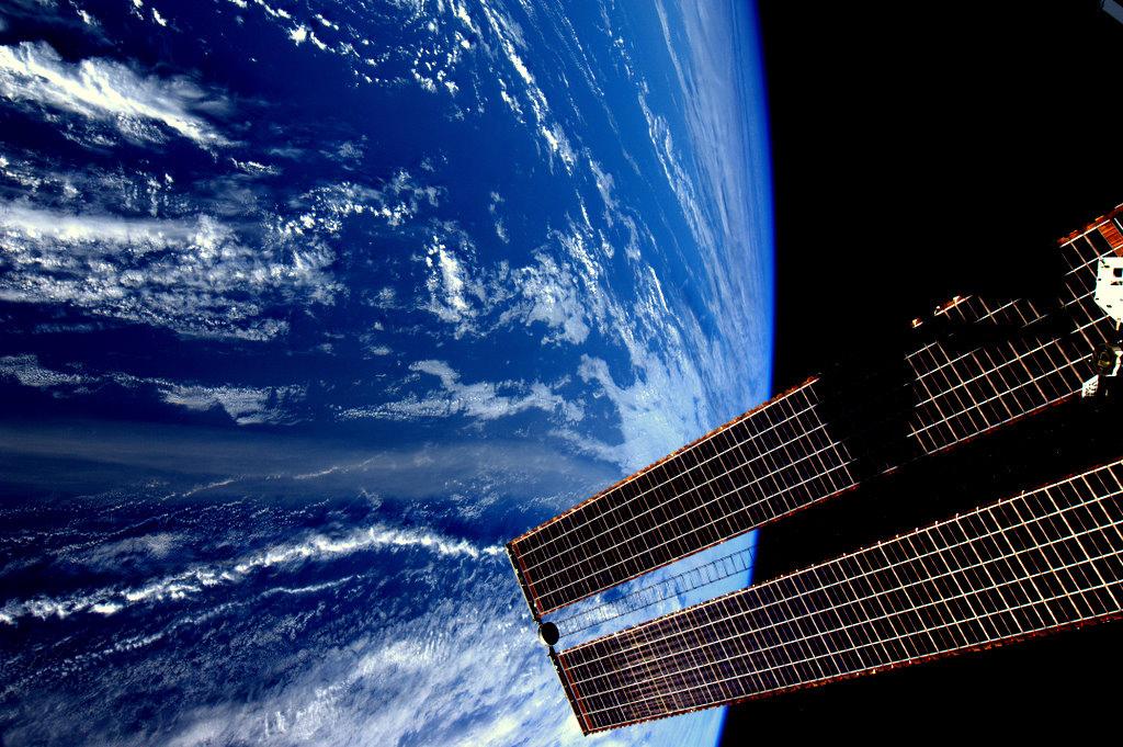 Космос от голландского астронавта Андре Киперса