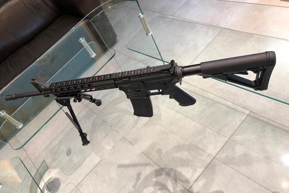 Российский аналог американской винтовки AR-15 представили в Москве