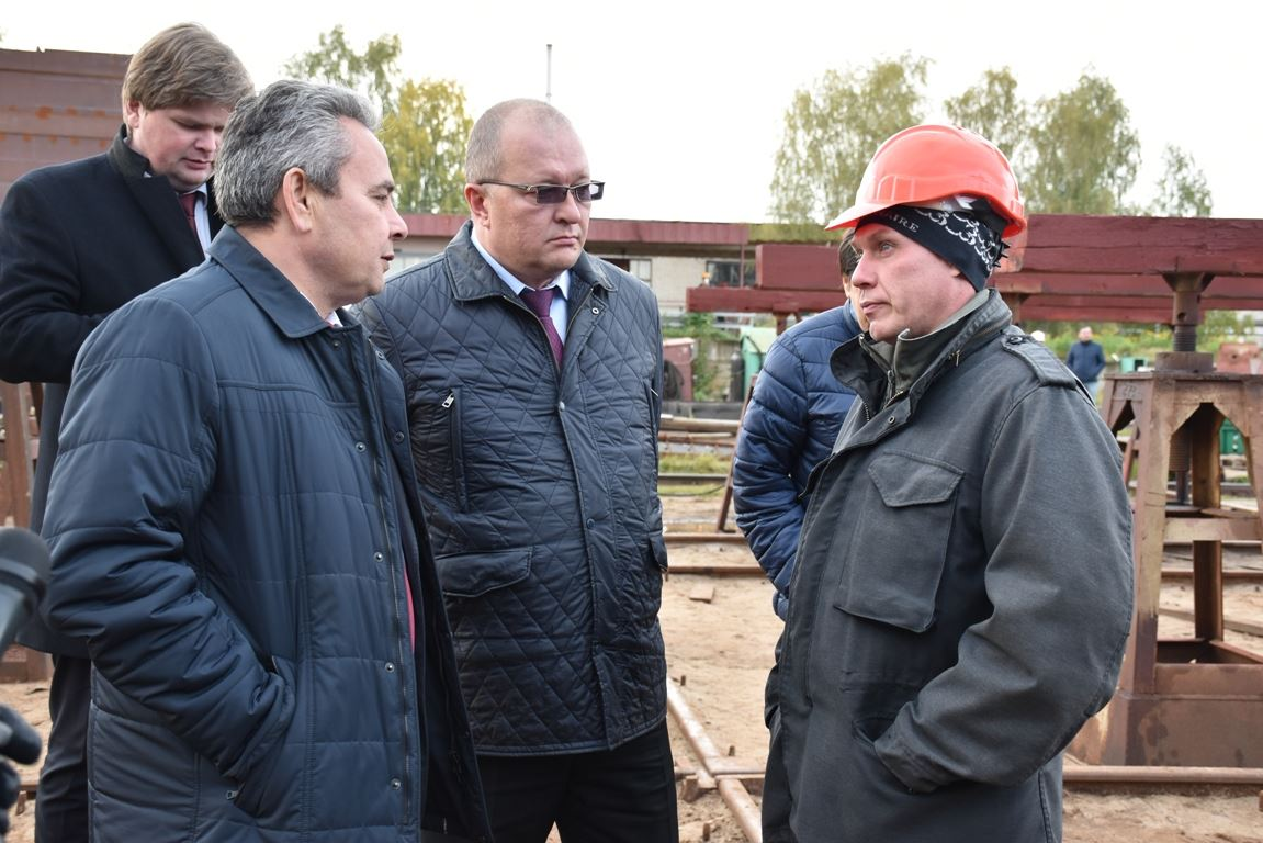 Построенный в Костроме танкер отправится в Голландию.