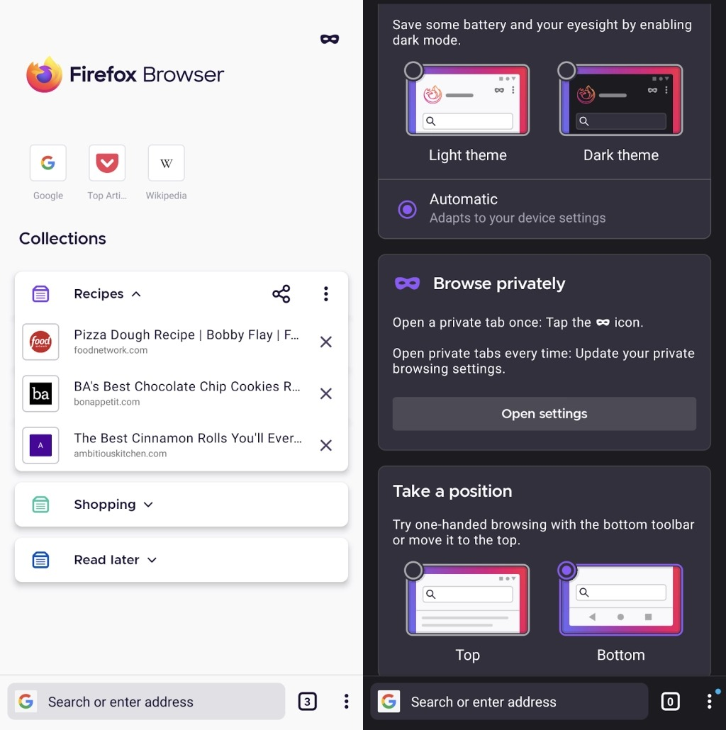 Mozilla выпустила полностью переработанный браузер Firefox для Android