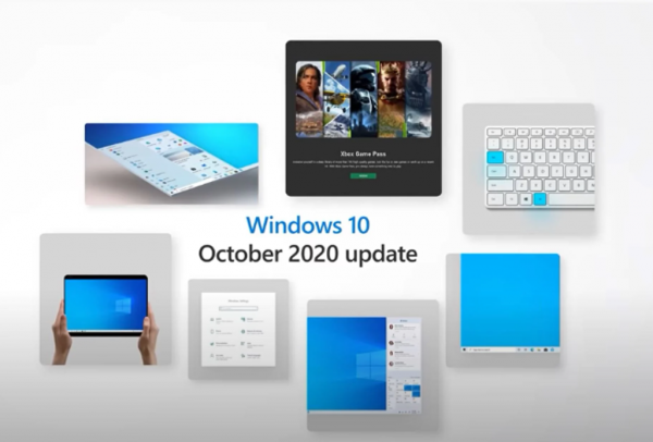 Состоялся релиз Windows 10 October 2020 Update