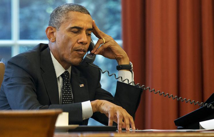 Обама не смог дозвониться до Трампа