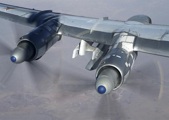 Полная версия. Бомбардировщики Ту-95МС нанесли удары крылатыми ракетами по объектам боевиков в Сирии