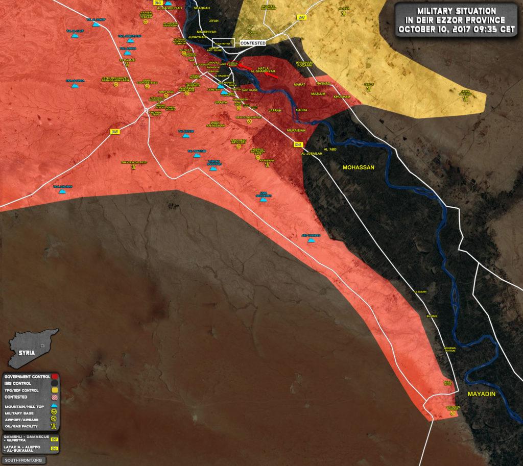 ВКС России продолжают уничтожение боевиков ИГИЛ, вторгшихся в провинцию Дейр-эз-Зор с западных районов Ирака