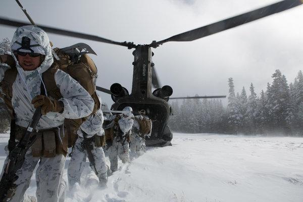 Американские военные начали готовиться к русской зиме