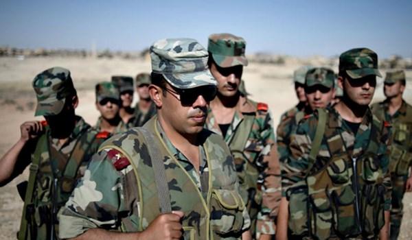 В Восточной Гуте Сирийская армия задержала большую группу британских военных