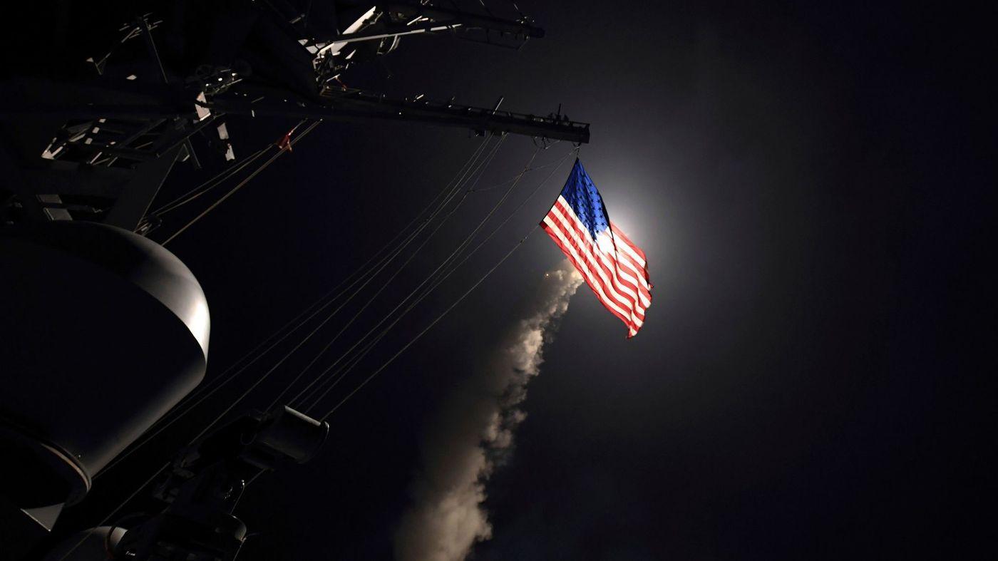 Источник: Сирия передала России две неразорвавшиеся в ходе удара США крылатые ракеты