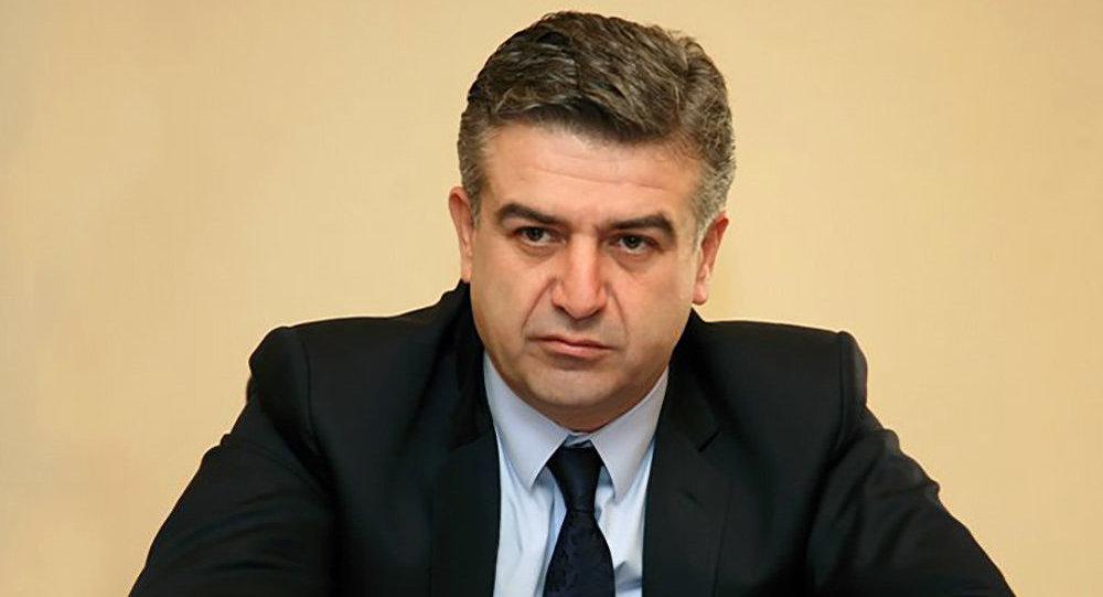 И. о. премьера Армении выступил за проведение внеочередных выборов в парламент