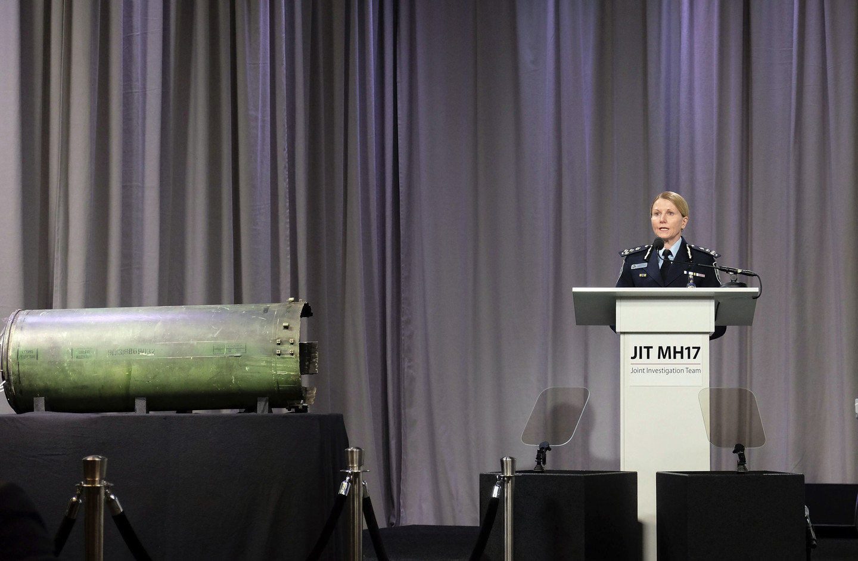 """МО РФ: Ракета """"Бука"""", которую показали в Гааге, не могла принадлежать России, т.к. номер двигателя ракеты указывает на её принадлежность украинской армии"""