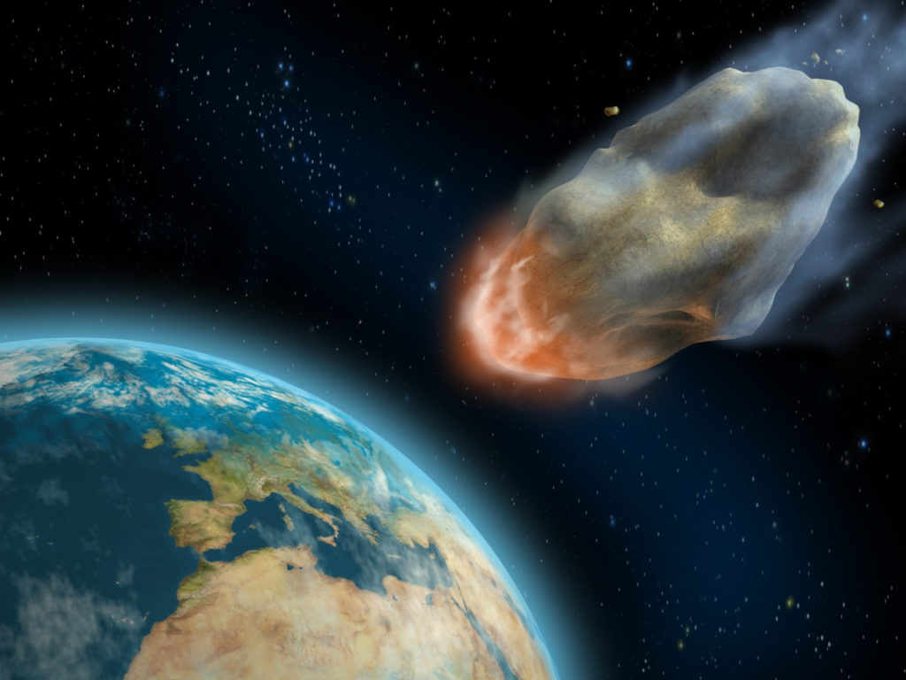 Сегодня международный день астероида. 30 июня 1908 года на Землю упал Тунгусский метеорит
