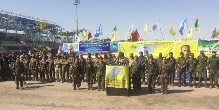 Ракку скоро передадут под контроль правительства Сирии