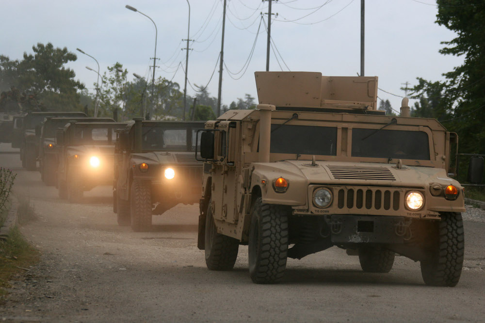"""Как российские военные захватили """"Хаммеры"""", принадлежавшие морской пехоте США"""