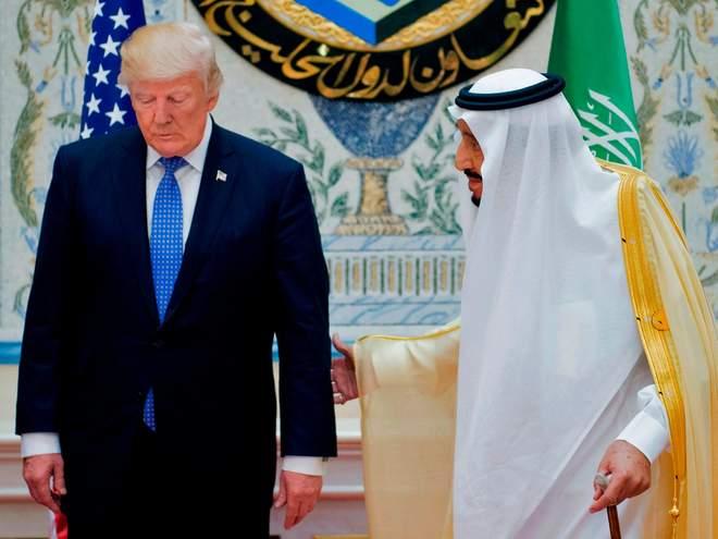 Трамп: Король Саудовской Аравии Салман не продержится две недели без поддержки США