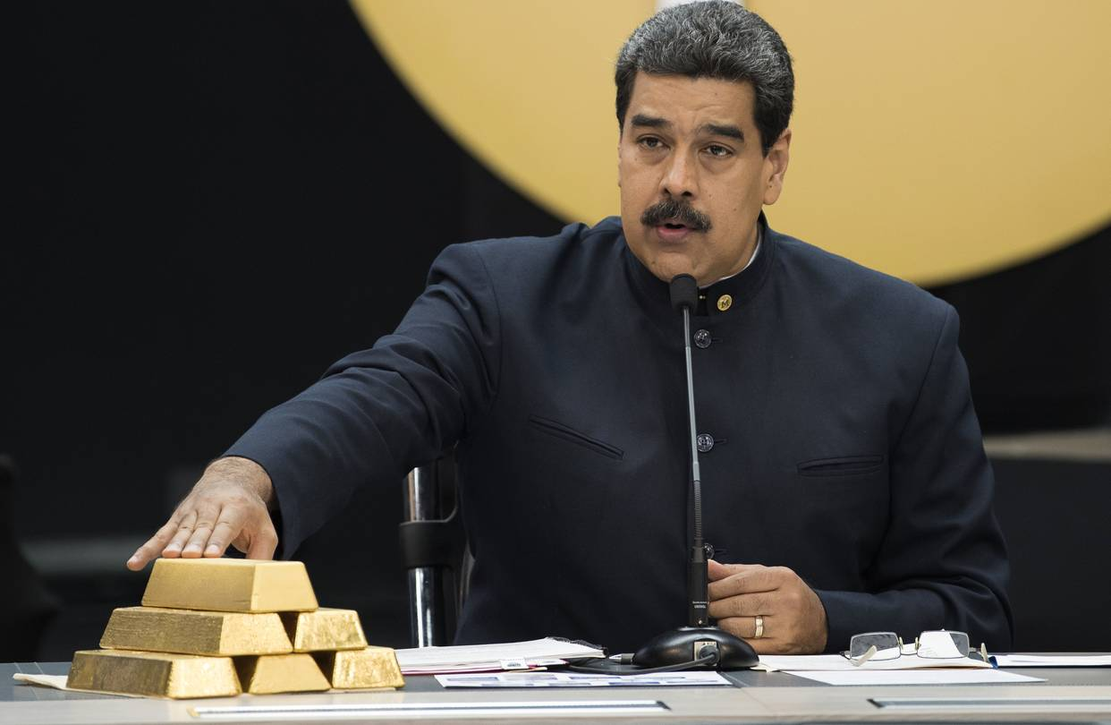 WSJ: США готовят санкции, чтобы помешать Венесуэле продавать золото