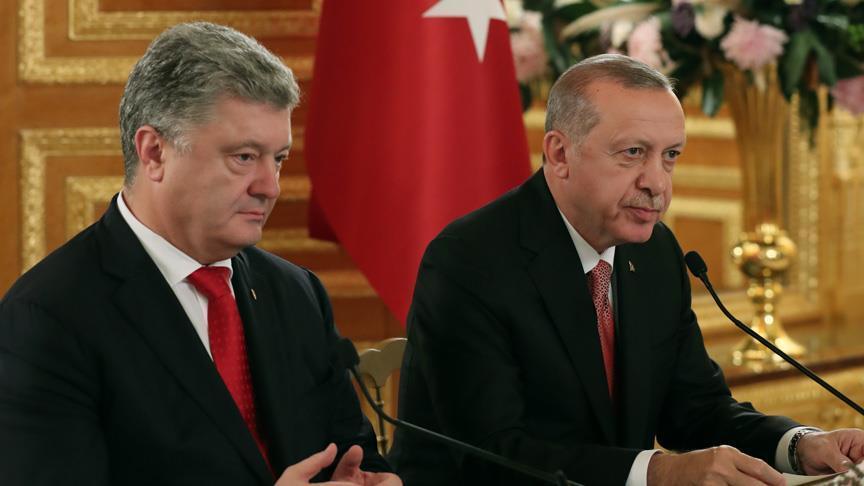Анкара не признавала и никогда не признает незаконную аннексию Крыма - Эрдоган. Киев хотел бы, что в состав миротворцев ООН на Украине вошли и турецкие военнослужащие - Порошенко