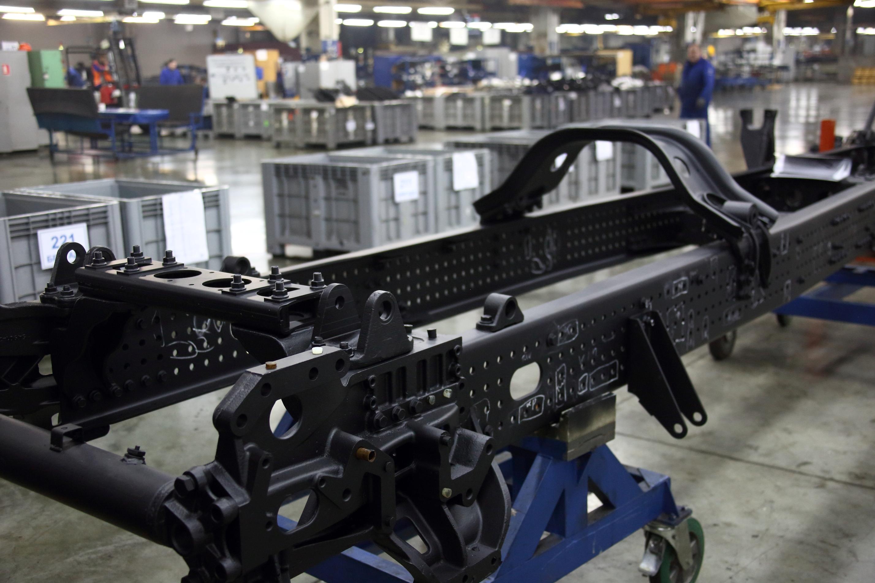 КАМАЗ приступил к сборке шасси для грузовиков нового поколения