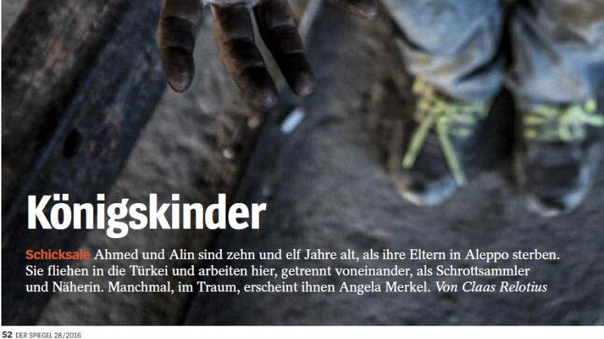 Скандальный репортер Spiegel присвоил пожертвования для детей-сирот