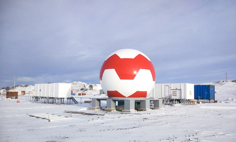 Аппаратура Ростеха в Антарктиде повысит точность системы ГЛОНАСС
