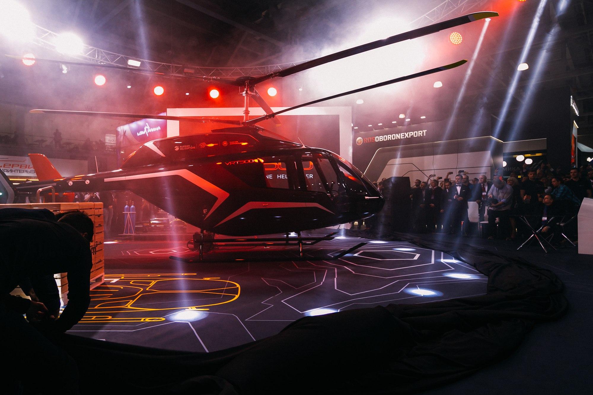 Ростех поставит десять вертолетов VRT500 в Скандинавию