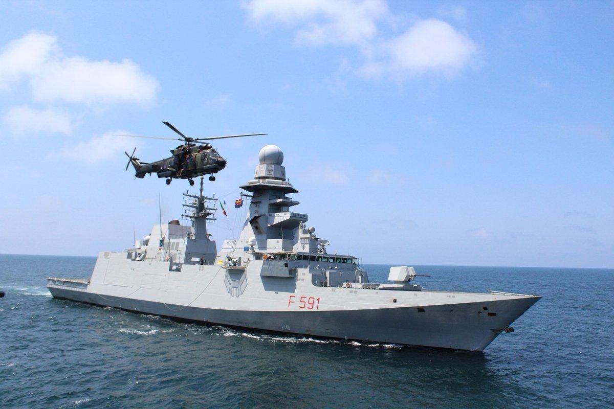Суда НАТО SNMG2 зашли в Черное море и направляются в Грузию
