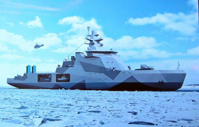 Пограничный корабль ледового класса для ФСБ заложат на верфи в Ленобласти