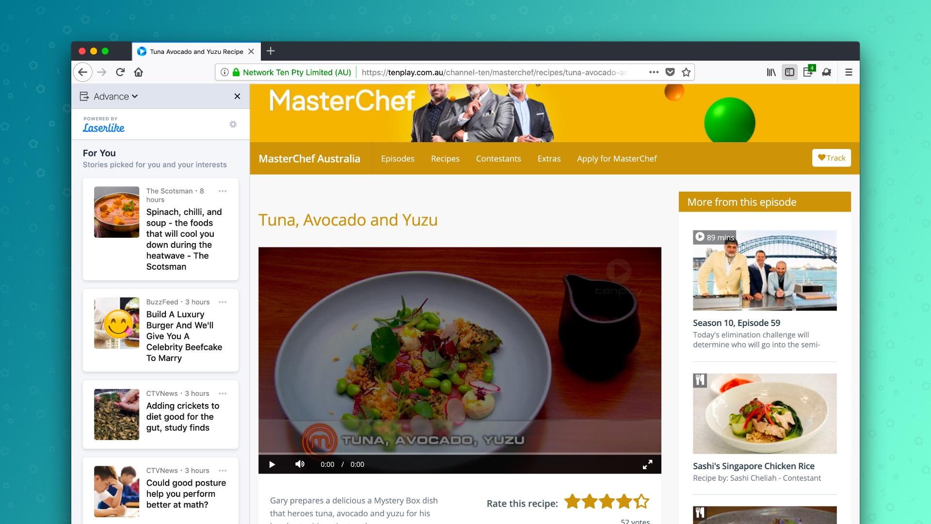 В Firefox началось тестирование системы рекомендации контента на основе активности пользователя