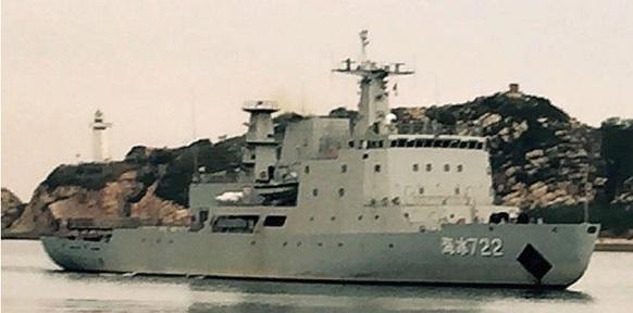 Китай спустил на воду первый ледокол собственного производства Xuelong 2