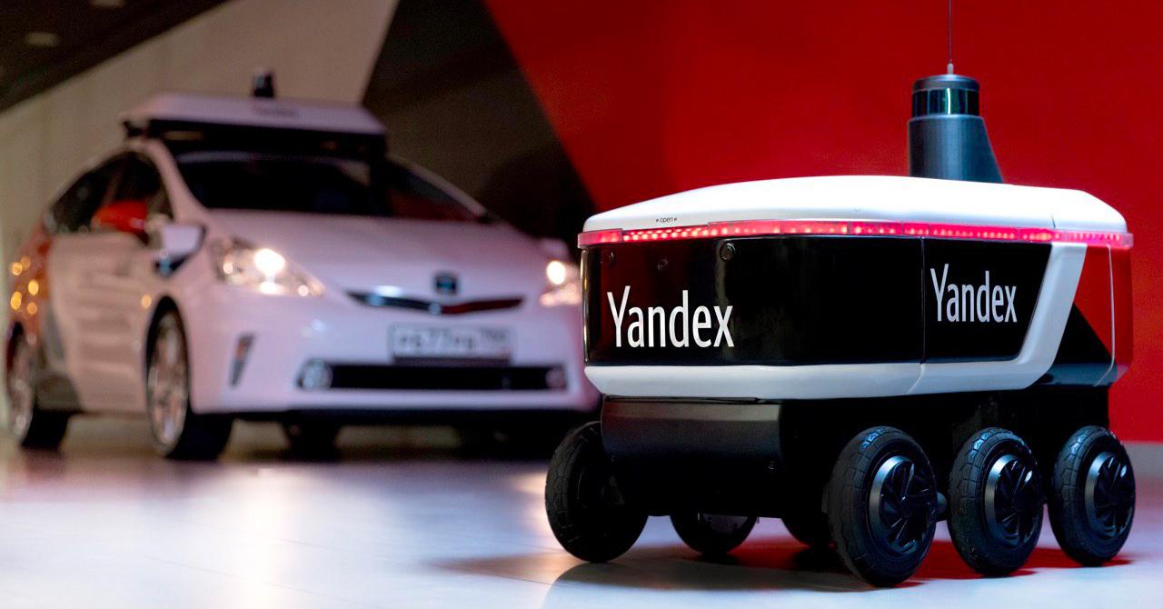 Яндекс проводит испытания автономного робота-доставщика Ровер