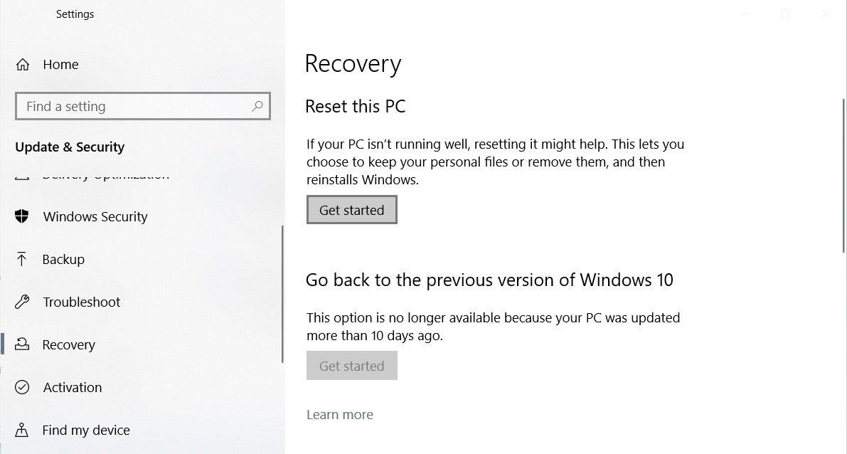 В Windows 10 версии 2004 можно отслеживать температуру видеокарты, а новые драйверы будут помечать как обновления
