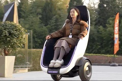 """Segway анонсировала кресло-транспортер, очень похожее на устройство из мультфильма """"ВАЛЛ-И"""""""