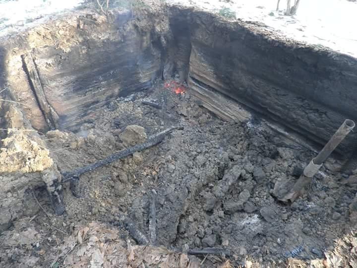 Во Львовской области в день рождения Бандеры сожгли музей УПА
