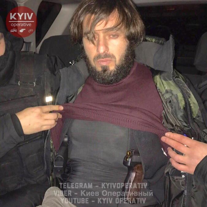 """В Киеве задержали вооруженного """"чеченского разведчика"""""""