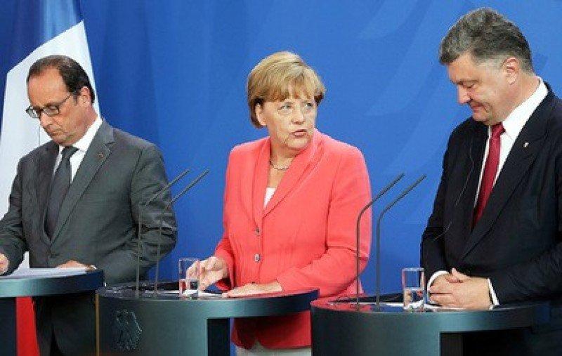 Suddeutsche Zeitung: Берлин винит Киев в обострении ситуации в Донбассе