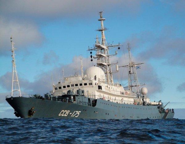 Источник сообщил об обнаружении российского корабля у Восточного побережья США