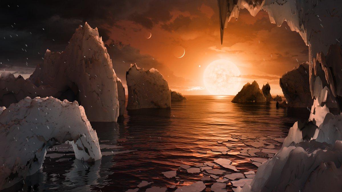 Ученые NASA обнаружили три предположительно пригодных для жизни экзопланеты