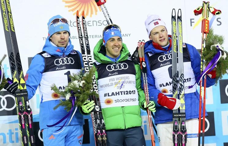 Российский лыжник Сергей Устюгов завоевал серебро в спринте свободным стилем на чемпионате мира