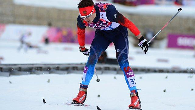 Российский лыжник Александр Бессмертных стал третьим в гонке на 50 км на этапе Кубка мира (Устюгов занял 8-е место)