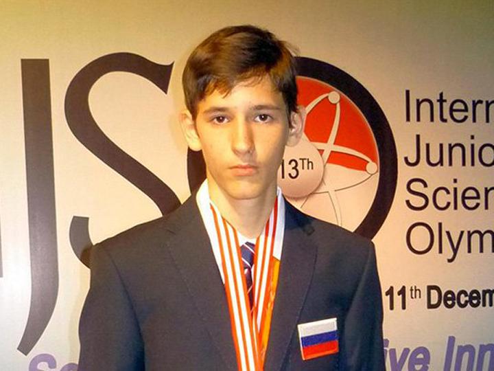 Петербургский школьник Станислав Крымский выиграл международную олимпиаду по физике