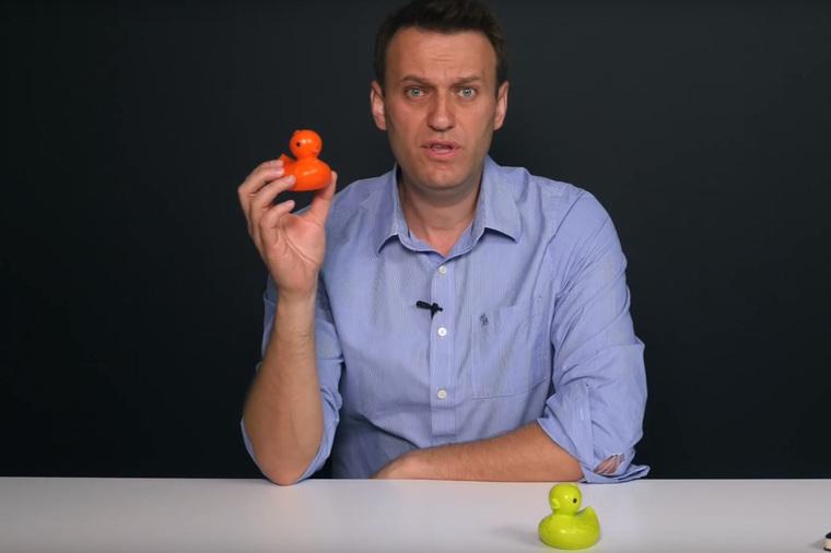 Уточки не заметили дыру на рубашке Навального (Навальный в рваной рубашке призвал россиян к митингам)