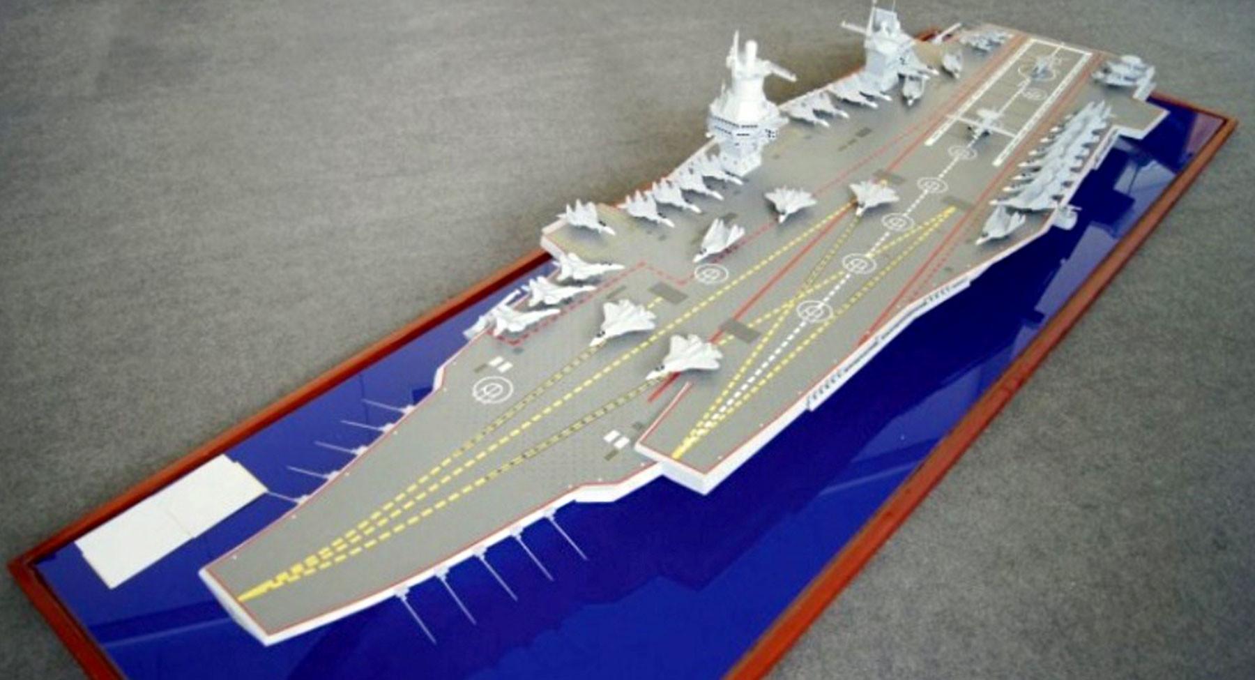 """На замену """"Мистралям"""": к 2030 году Россия получит три авианесущих корабля"""