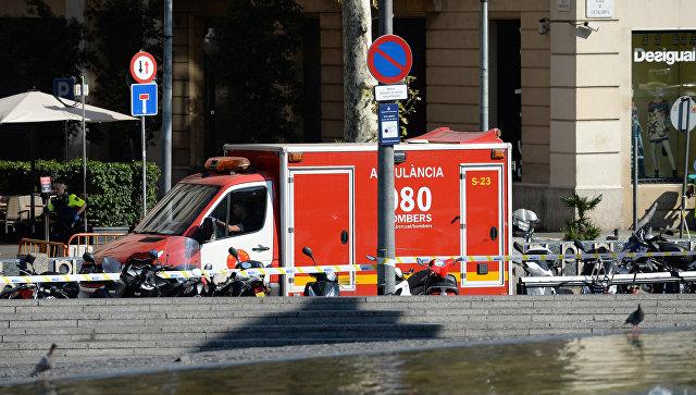Двое вооруженных людей ворвались в один из ресторанов Барселоны