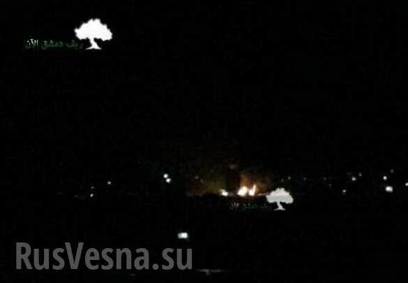 Над Сирией сбит ударный БПЛА Израиля, атаковавший Дамаск