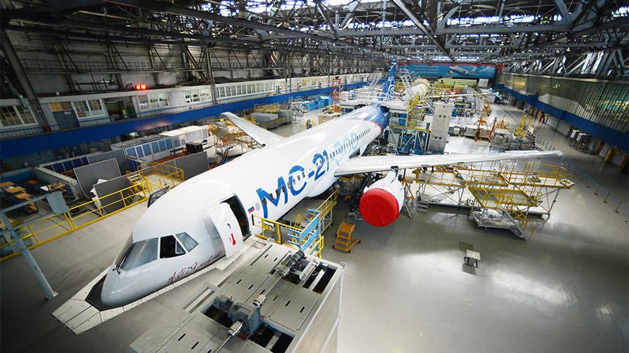 В России создают операционную систему для самолетов (Первым ее получит новый отечественный лайнер МС-21)