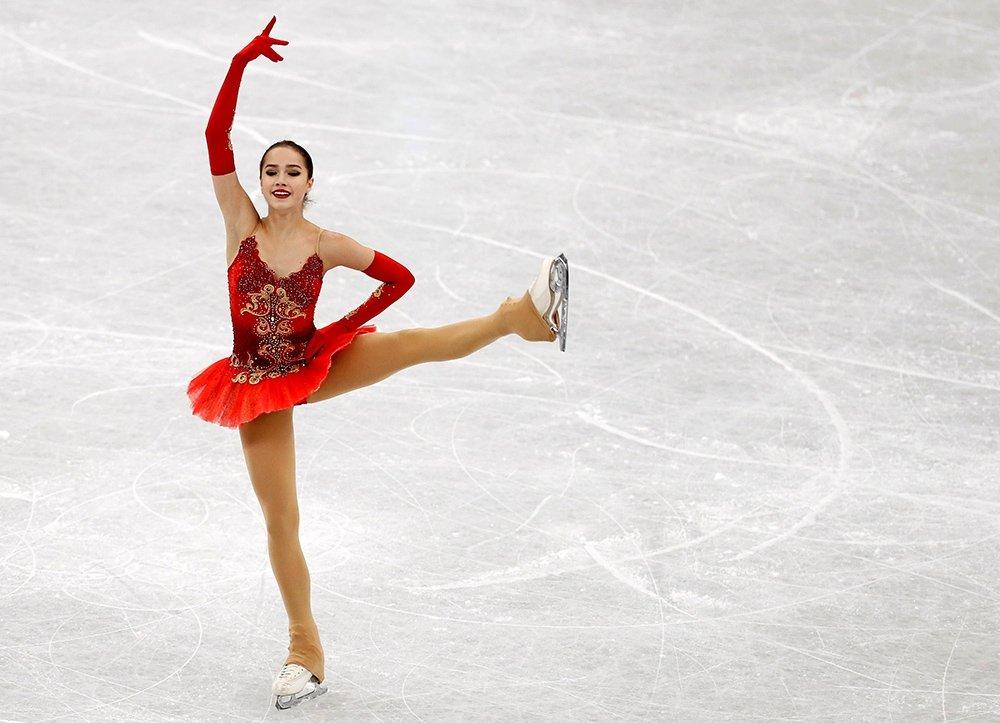 Российская фигуристка Алина Загитова выиграла дебютный финал Гран-при в Японии