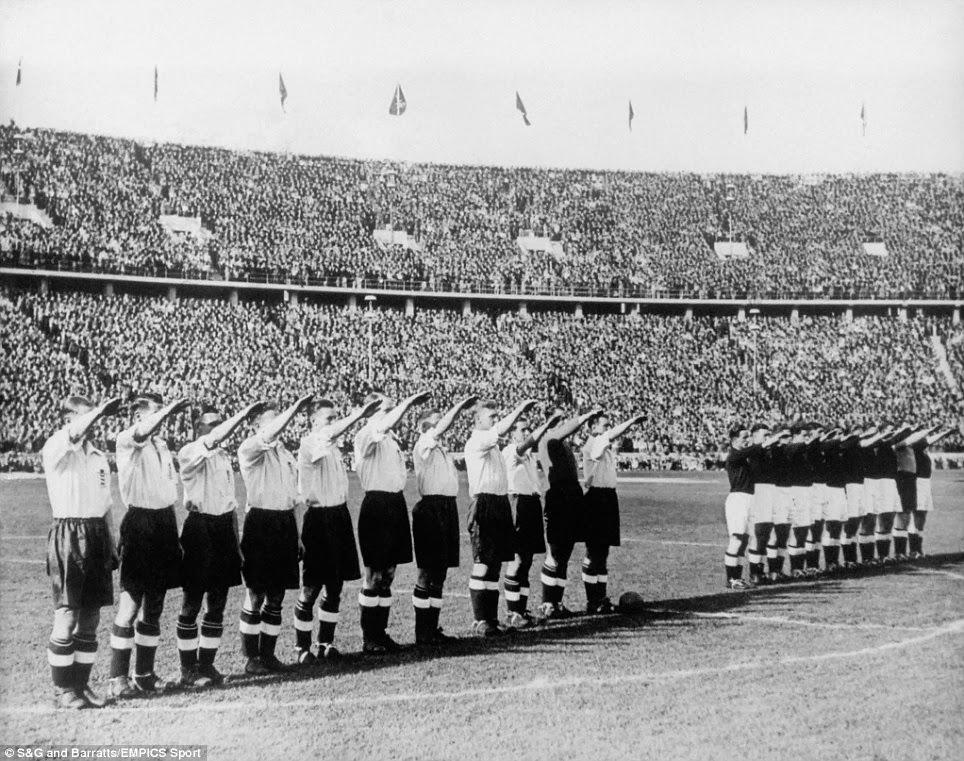 [История футбола] Нацистская Германия приветствовала Англию в Белом Харт-лейн в Шпорах: 1935