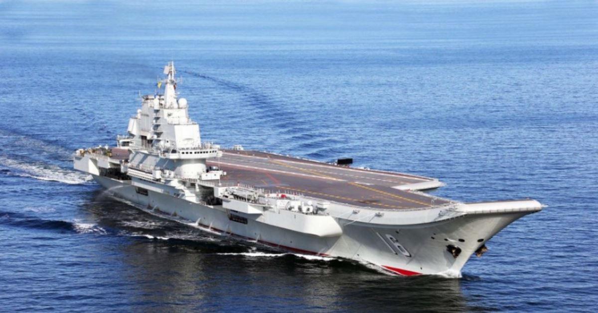 Китай признал дефектным купленный у Украины авианосец