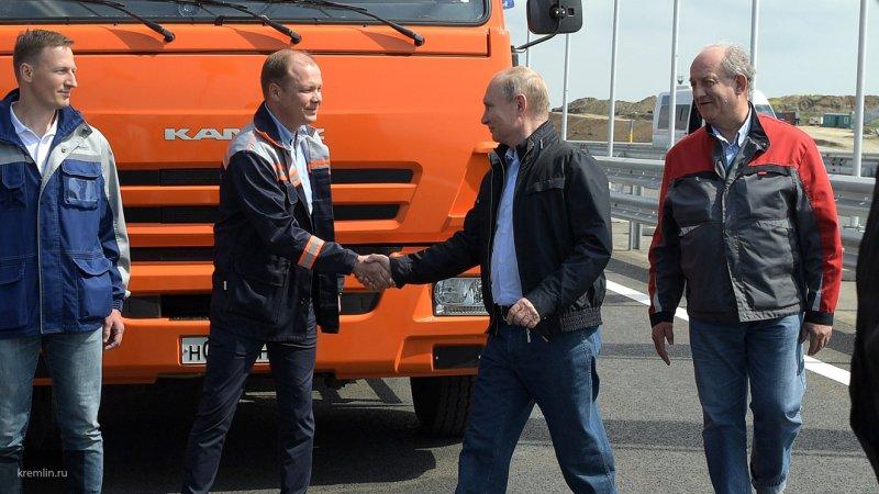 CNN: открытием Крымского моста Путин напомнил Западу о своей непреклонности