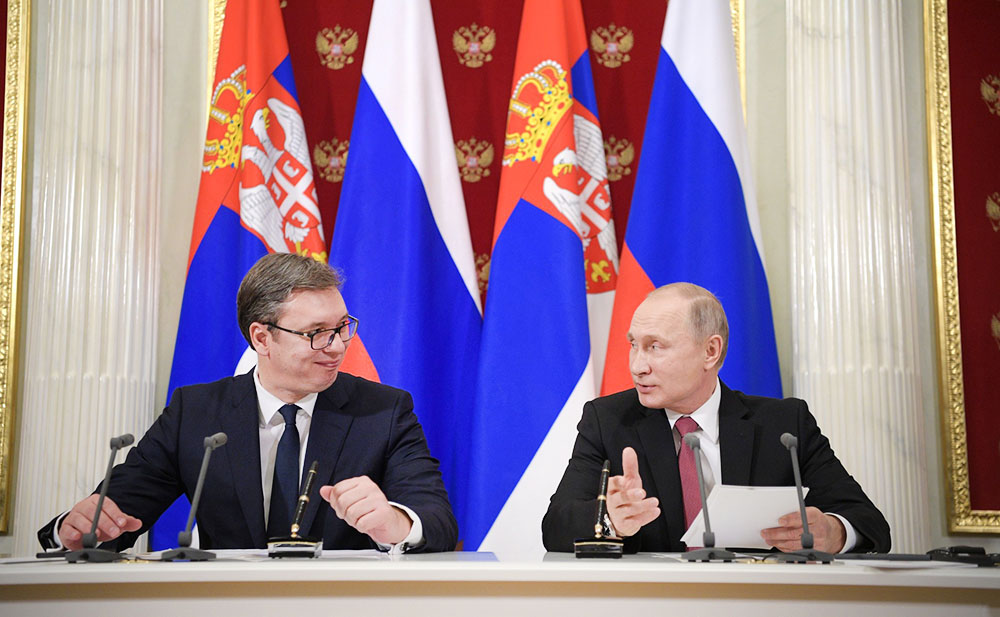 Вучич объяснил, почему Сербия никогда не поддержит антироссийские санкции