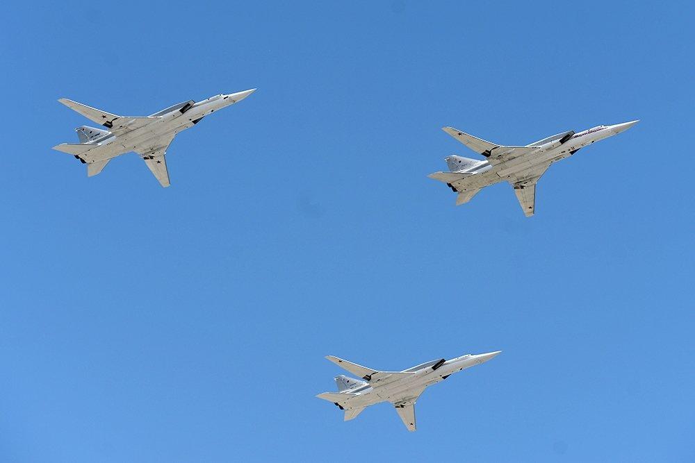 Летали и летать будем (Дальняя авиация успешно выполняет задачи по обеспечению безопасности в Арктике)